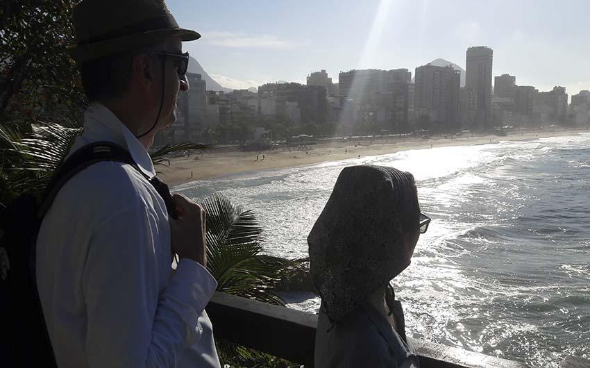Une superbe belle journée à Rio