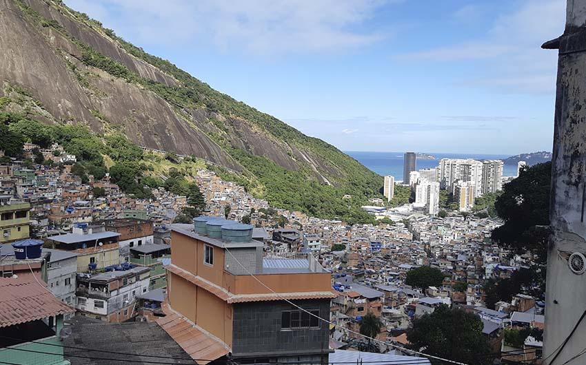 Visite de la favela Rocinha