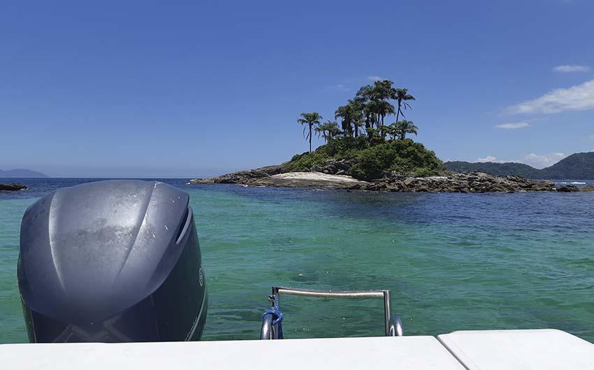 Promenade en bateau à Ilha Grande