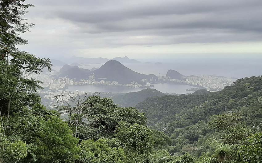 Randonnée Vista Chinesa x Morro do Queimado (forêt de Tijuca)