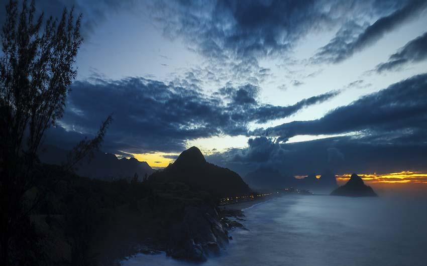 Le charme de la montagne et de la plage à Rio