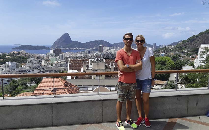 Visit to Rio Historic Downtown