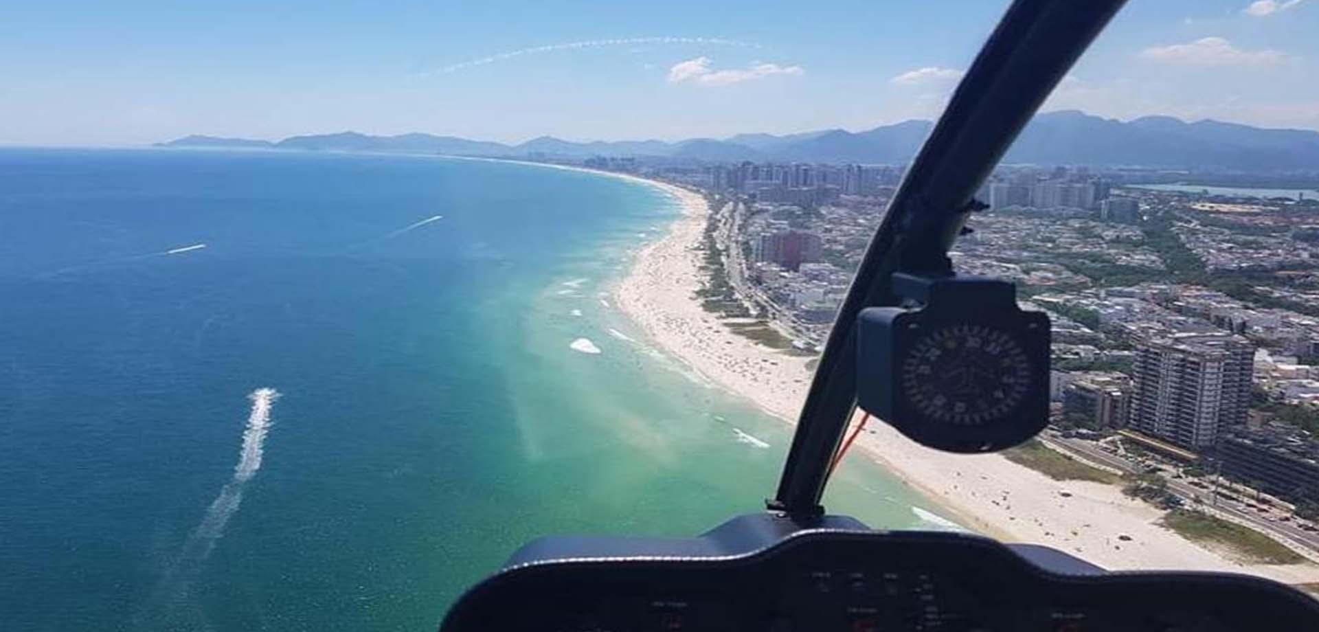 Tour en hélicoptère au-dessus de Rio de Janeiro