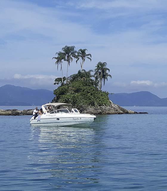 Boat trip to Ilha Grande